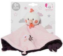 Artesavi  alvókendő - rózsaszín  tyúk