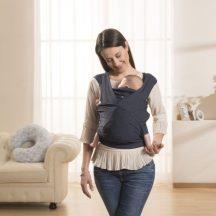 Chicco Boppy® ComfyFit csatos hordozókendő 3,5 - 15 kg Blue