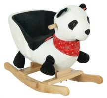 Panda hintaló üléssel, hanggal