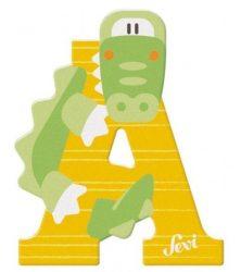 Sevi Fa betű állatos - A Sárga