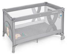 Baby Design Simple fix utazóágy - 07 Light Grey