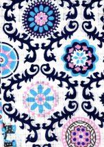 1db-os mintás pelenka - mozaik