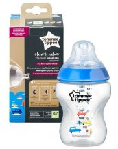 Tommee Tippee Closer To Nature cumisüveg 260ml színes 0+ (KÉK)