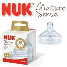 Nuk 0-6+ Nature Sense etetőcumi - M méret
