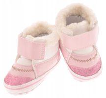 Yo! Bébicipő 6-12 hó - Rózsaszín/pink