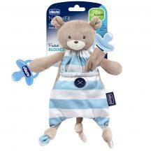 Chicco Pocket Friend szundikendő cumitartópánttal -  kék
