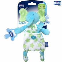 Chicco Pocket Friend szundikendő cumitartópánttal -  elefánt