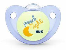 Nuk Night&Day szilikon világítós altatócumi gyűrű nélkül, 3-as 18-36 + - Good Night