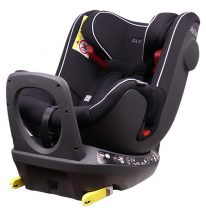 Avova Swan-Fix 0-25 kg ISOFIX biztonsági autósülés 360° fokban forgatható  - Pearl Black