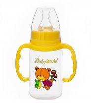 Baby Bruin fogós cumisüveg 120 ml - mackós