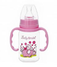 Baby Bruin fogós cumisüveg 120 ml - elefántos