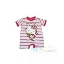 Hello Kitty baba rövid ujjú napozó