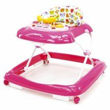 Asalvo bébikomp zenés játéktálcával - Elephants pink