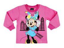 Disney Minnie baba/gyerek pizsama (98) Minnie Városban-klón