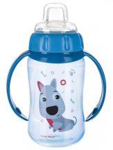 Canpol Trainig Cup cseppmentes itatópohár 320 ml kék