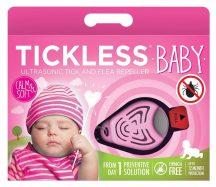 Tickless Ultrahangos kullancsriasztó baby rózsaszín