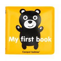 Canpol puha sípoló könyv - My first book