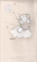 Pamut babapléd - bézs bárány