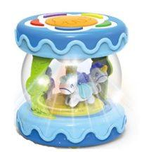 HammyBaby Musical Drum hangszer - kék