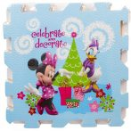 Disney Minnie habszivacs szőnyeg 9 db-os