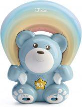 Chicco Rainbow Bear - Szivárvány maci zene-fény projektor 0h + kék