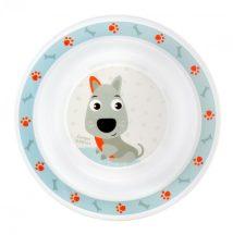 Canpol babies műanyag tányér - kutyás