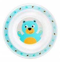 Canpol babies műanyag tányér - macis