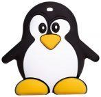 Akuku szilikon rágóka - pingvin