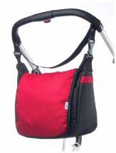 Caretero Classic pelenkázó táska - red