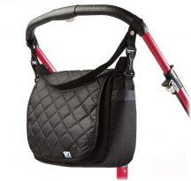 Caretero pelenkázó táska - black