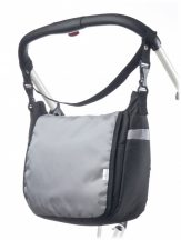 Caretero Classic pelenkázó táska - light grey
