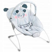 MoMi GLOSSY zenélő-rezgő pihenőszék - panda