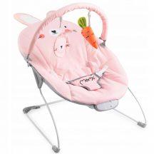 MoMi GLOSSY zenélő-rezgő pihenőszék - bunny