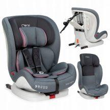 MoMi SAFETYLUX  9-36 kg biztonsági autósülés ISOFIX  - szürke/rózsaszín
