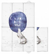 Pelenkázó alátét utazáshoz  Watercolor World Born to be wild