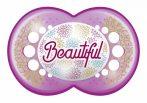 Mam 6+ Original szilikon nyugtató cumi - lila Beautiful