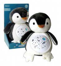 Calm doll Plüss pingvin bébijáték, zenél, világít