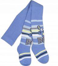 Yo! Baby frottír harisnyanadrág (104-110) - kék egeres