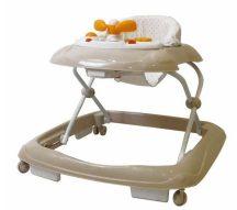 Asalvo bébikomp zenés játéktálcával - Baby Starts Beige