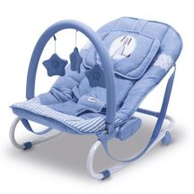 Asalvo Relax pihenő-hintaszék 9 kg-ig - Bunny light blue