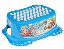 Tega Baby fellépő - kék autó