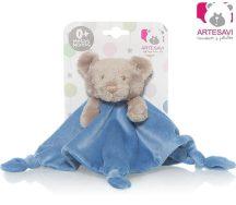 Artesavi  alvókendő maci - sötét kék