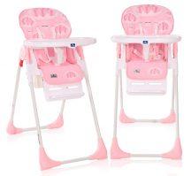 Lorelli Cryspi multifunkciós etetőszék -  Pink Hearts