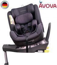Avova Sperber-Fix I-Size 360° biztonsági gyerekülés 40-105 cm - Koala grey