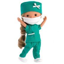 Llorens: Miss Minis ápolónő baba 26cm