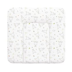 Puha pelenkázó lap 75*72 cm - Fehér Nyuszi Álom