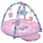 Játszószőnyeg zenélő -  maci pink