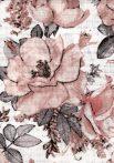 1db-os színes,mintás textil pelenka - nagy rózsa