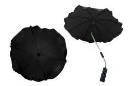 Univerzális napernyő babakocsihoz - Fekete