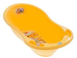 Szafari mintás babakád 86 cm - sárga